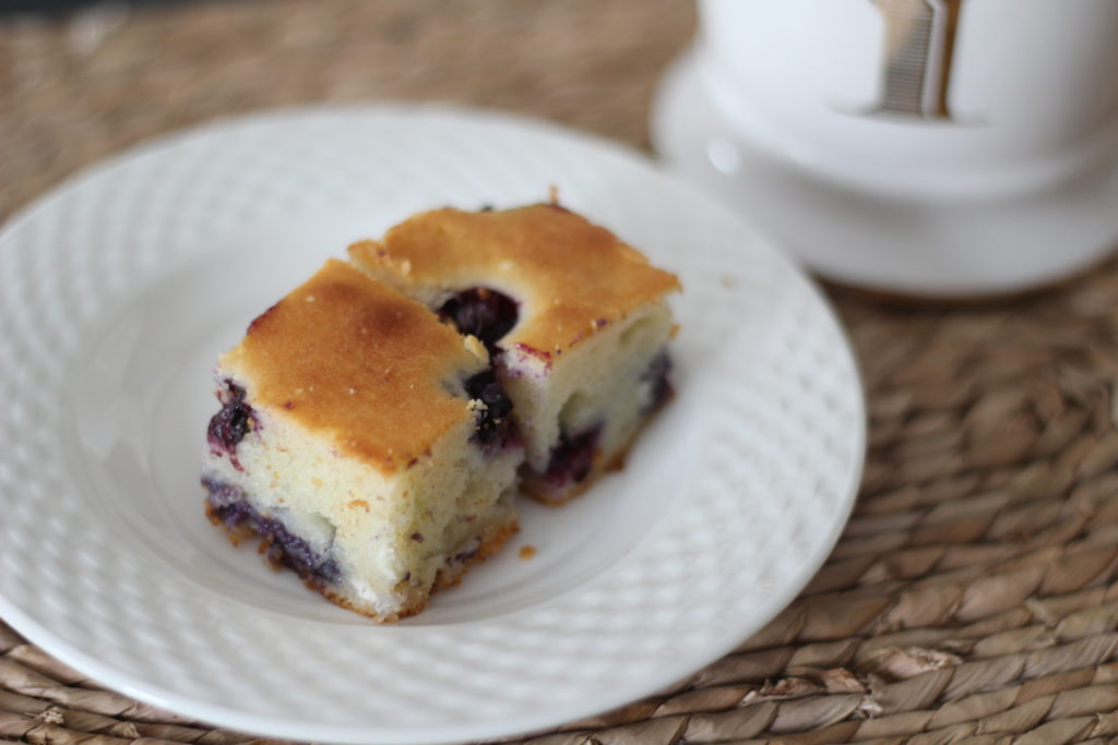 Blueberry Mochi Cake - Love Your Abode