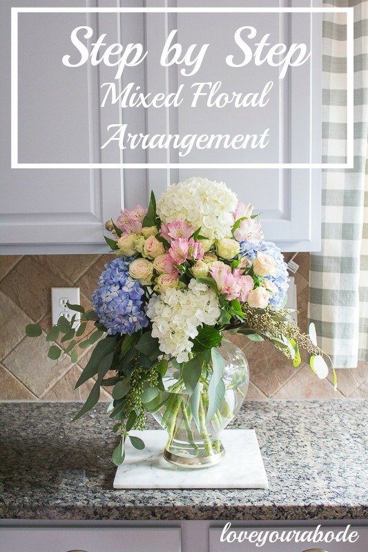 how-to-create-mixed-floral-arrangement loveyourabode -6